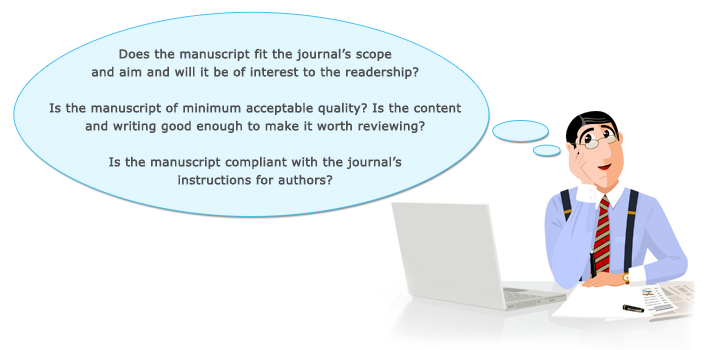 Peer review process and editorial decision making at journals – Resubmission Cover Letter